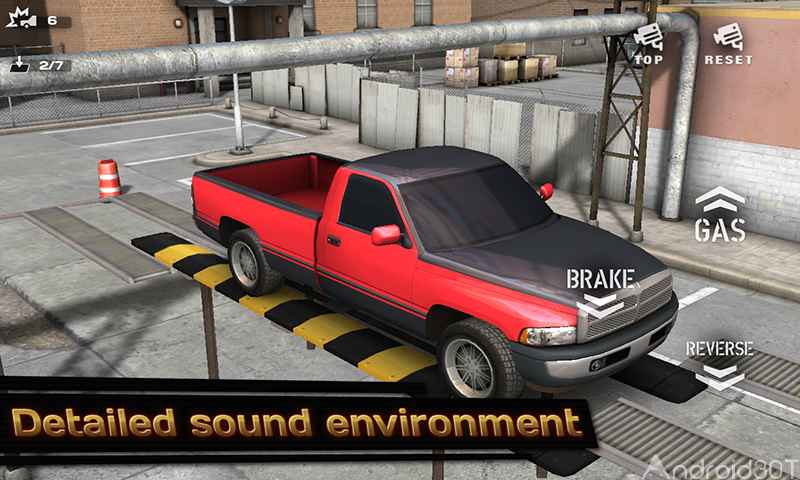 دانلود Backyard Parking 3D 1.628 – بازی پارک کردن اتومبیل اندروید