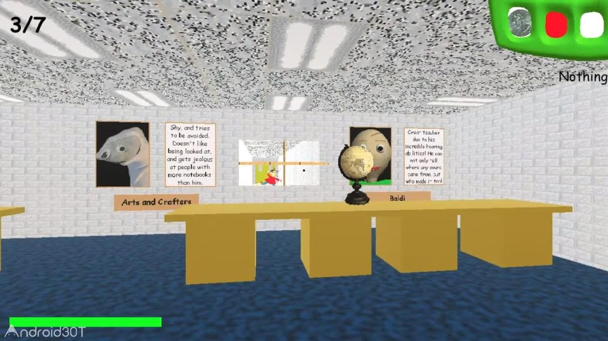 بازی Baldi's Basics in Education and Learning 2.0 – بازی شبیه سازی اندروید