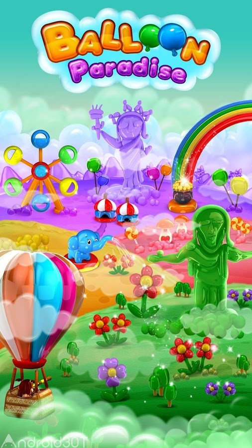 دانلود Balloon Paradise 4.0.6 – بازی پازلی بهشت بادبادک ها اندروید