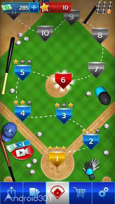 دانلود Baseball Megastar 1.0.5.150 – بازی ورزشی بیسبال اندروید