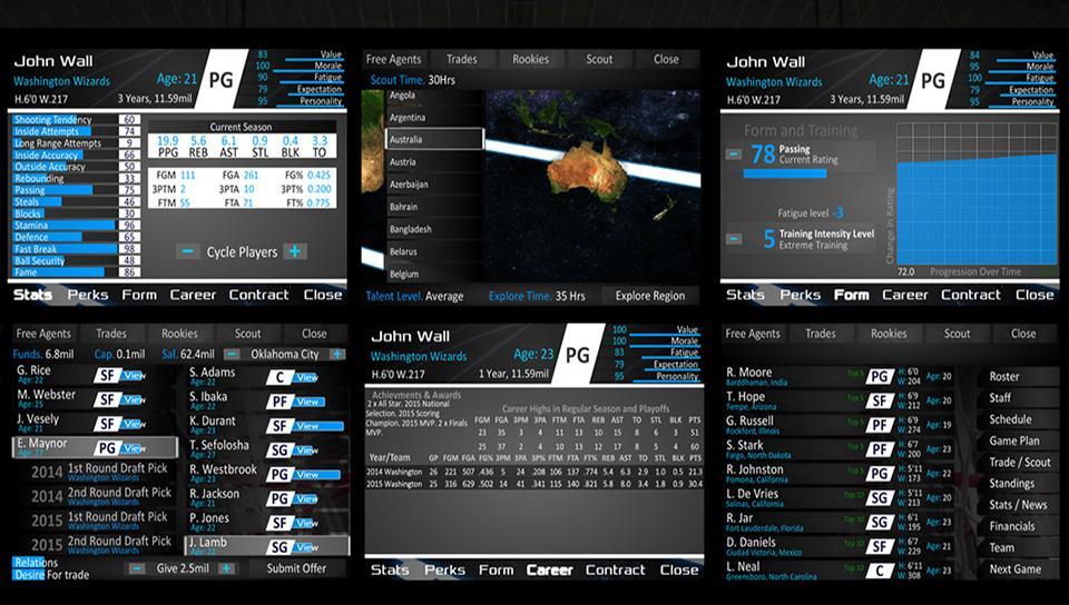 دانلود Basketball Dynasty Manager 16 v2.2.4 – بازی وزرشی بسکتبال 16 اندروید
