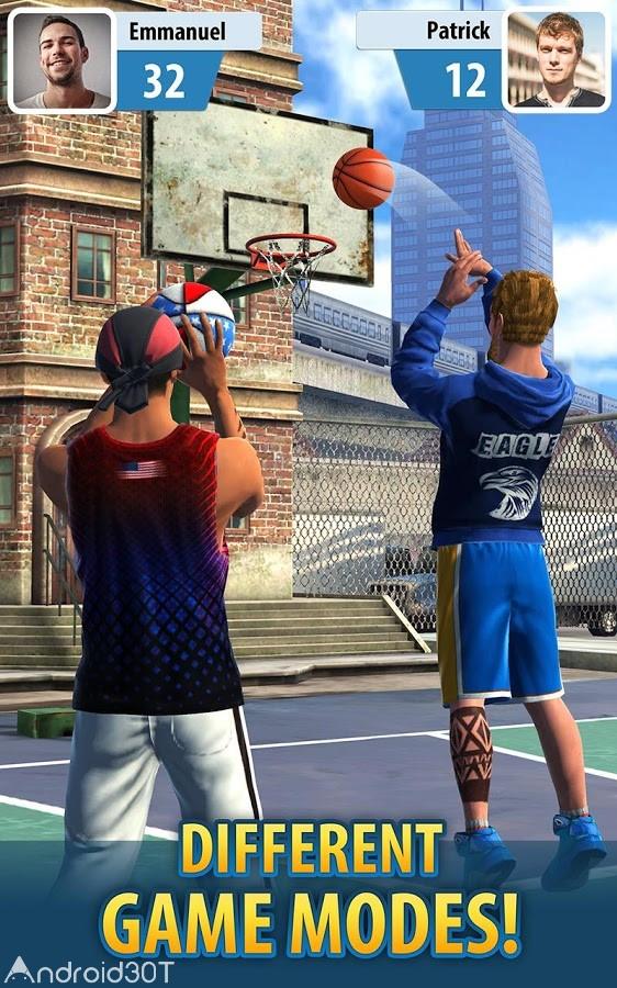 دانلود Basketball Stars 1.32.0 – بازی آنلاین ستارگان بسکتبال اندروید
