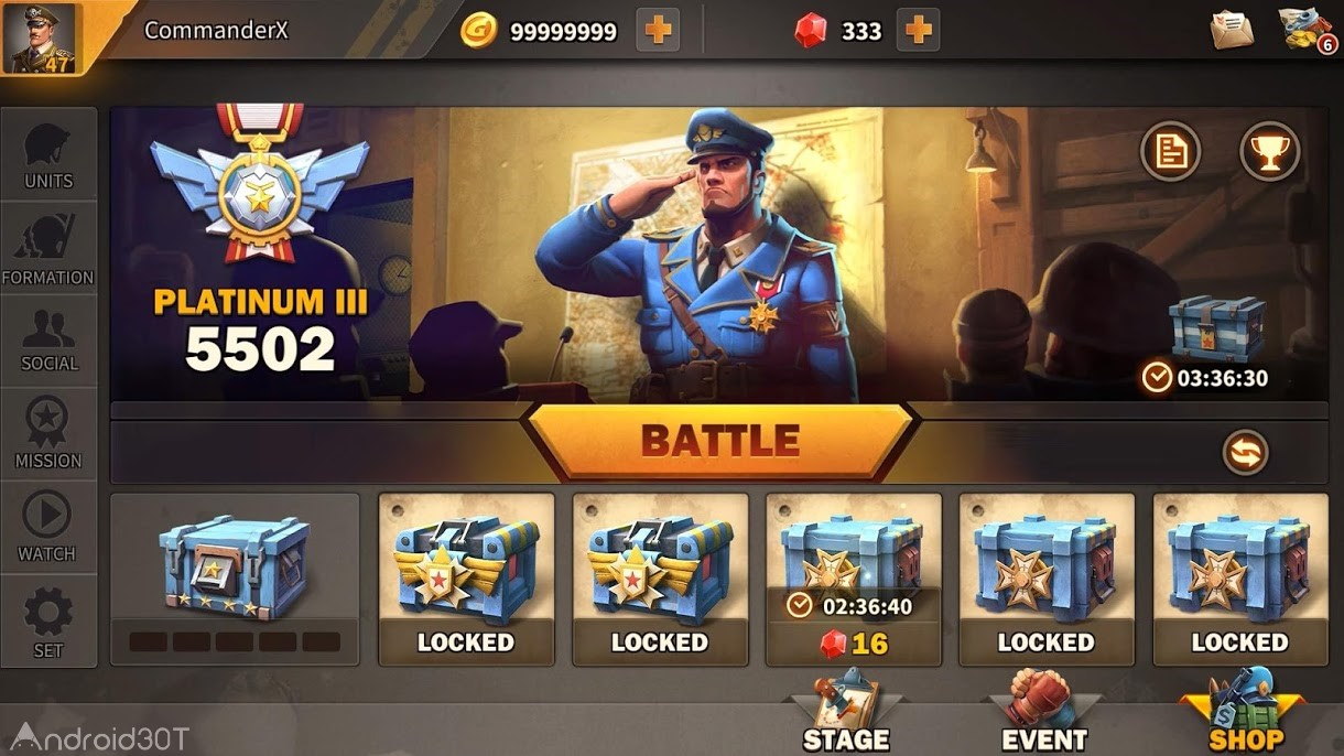 دانلود Battle Boom 1.1.21 – بازی استراتژیکی بتل بوم اندروید