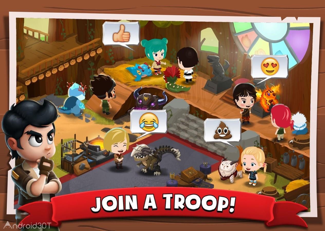 دانلود Battle Camp 5.10.0 – بازی نقش آفرینی اردوگاه جنگ اندروید