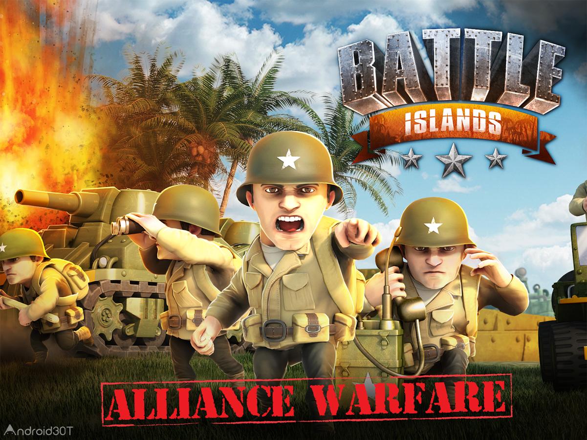دانلود Battle Islands 5.4 – بازی آنلاین و استراتژیک جزایر جنگی اندروید