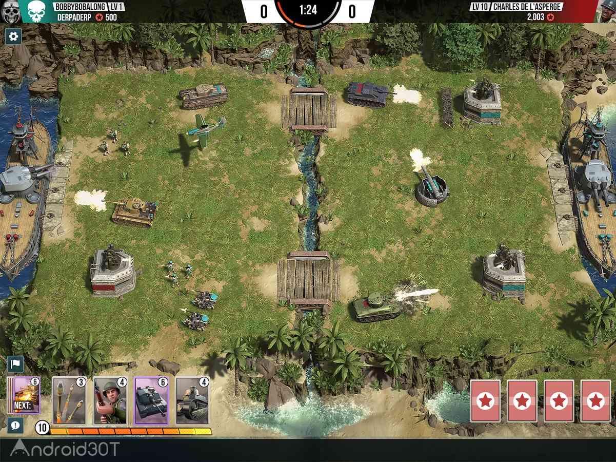 دانلود Battle Islands: Commanders 1.6.1 – بازی استراتژیک نبرد جزیره اندروید