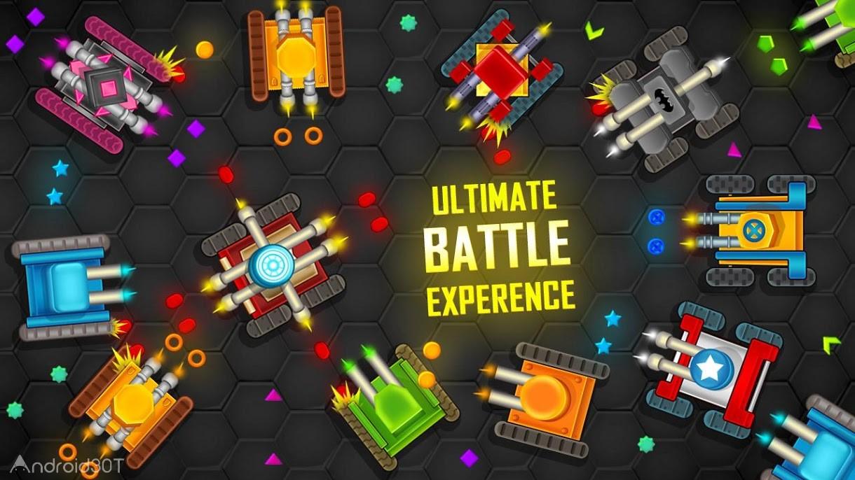 دانلود Battle.io 1.9 – بازی هیجان انگیز نبرد تانک ها اندروید