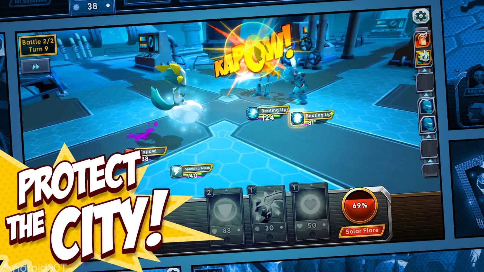 دانلود BattleHand Heroes 2.1.1 – بازی جدید قهرمانان نبرد اندروید