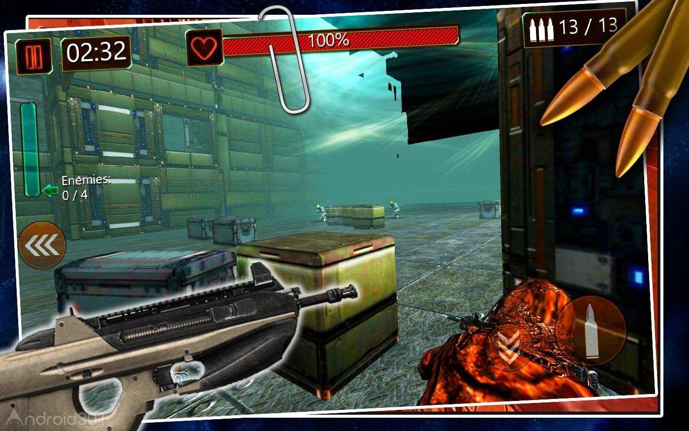 دانلود Battlefield Combat: Genesis 5.1.7 – بازی مبارزه در میدان جنگ اندروید