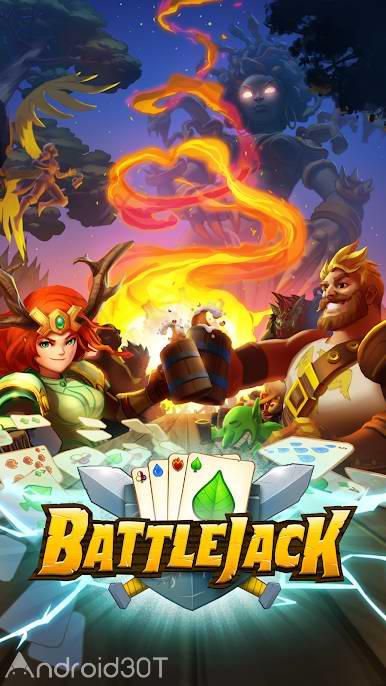 دانلود Battlejack: Blackjack RPG 2.6.2 – بازی نقش آفرینی نبرد جک اندروید
