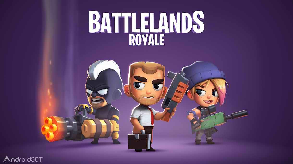دانلود Battlelands Royale 2.8.0 – بازی اکشن بتل لند رویال اندروید