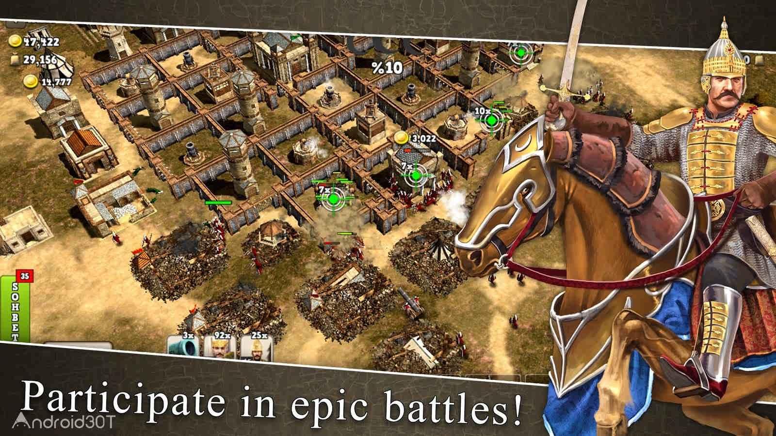 دانلود Battles of Ottoman Empire 3.0.1 – بازی نبرد امپراطوری عثمانی برای اندروید