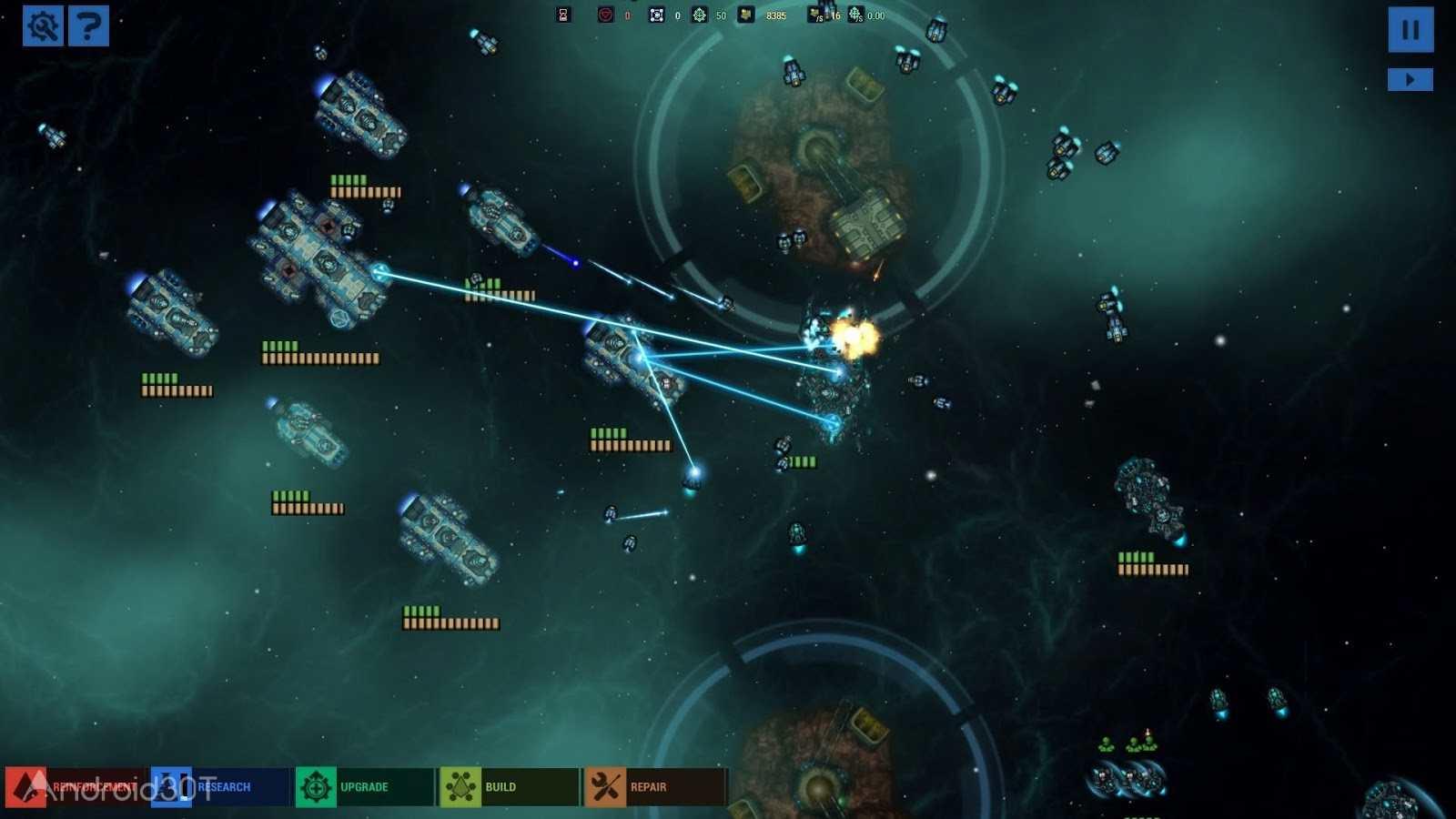 دانلود Battlevoid: Sector Siege 1.43 – بازی فضایی نبرد در کهکشان اندروید