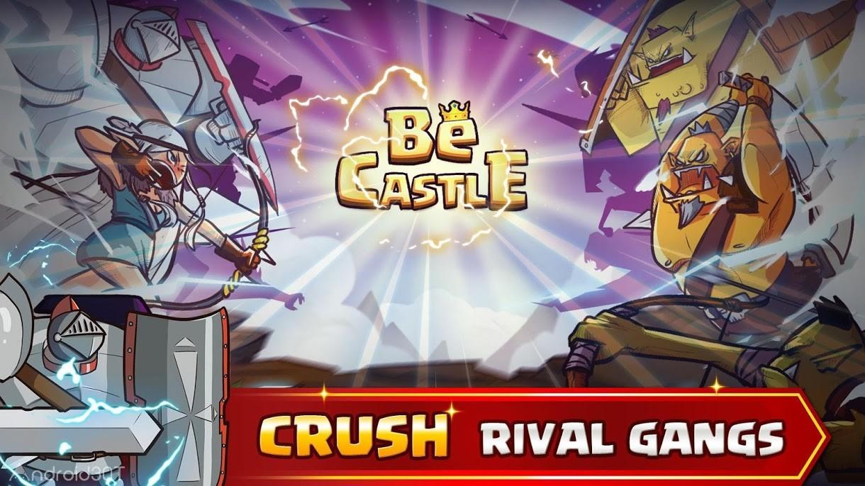دانلود BeCastle: Castle Defense in a Card 1.0.17  – بازی استراتژیکی دفاع از قلعه برای اندروید