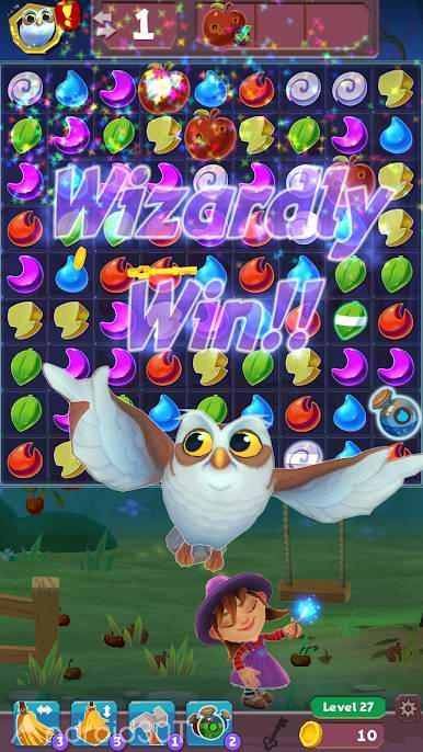 دانلود BeSwitched Magic Match 3 v1.10.2 – بازی پازلی جادویی اندروید