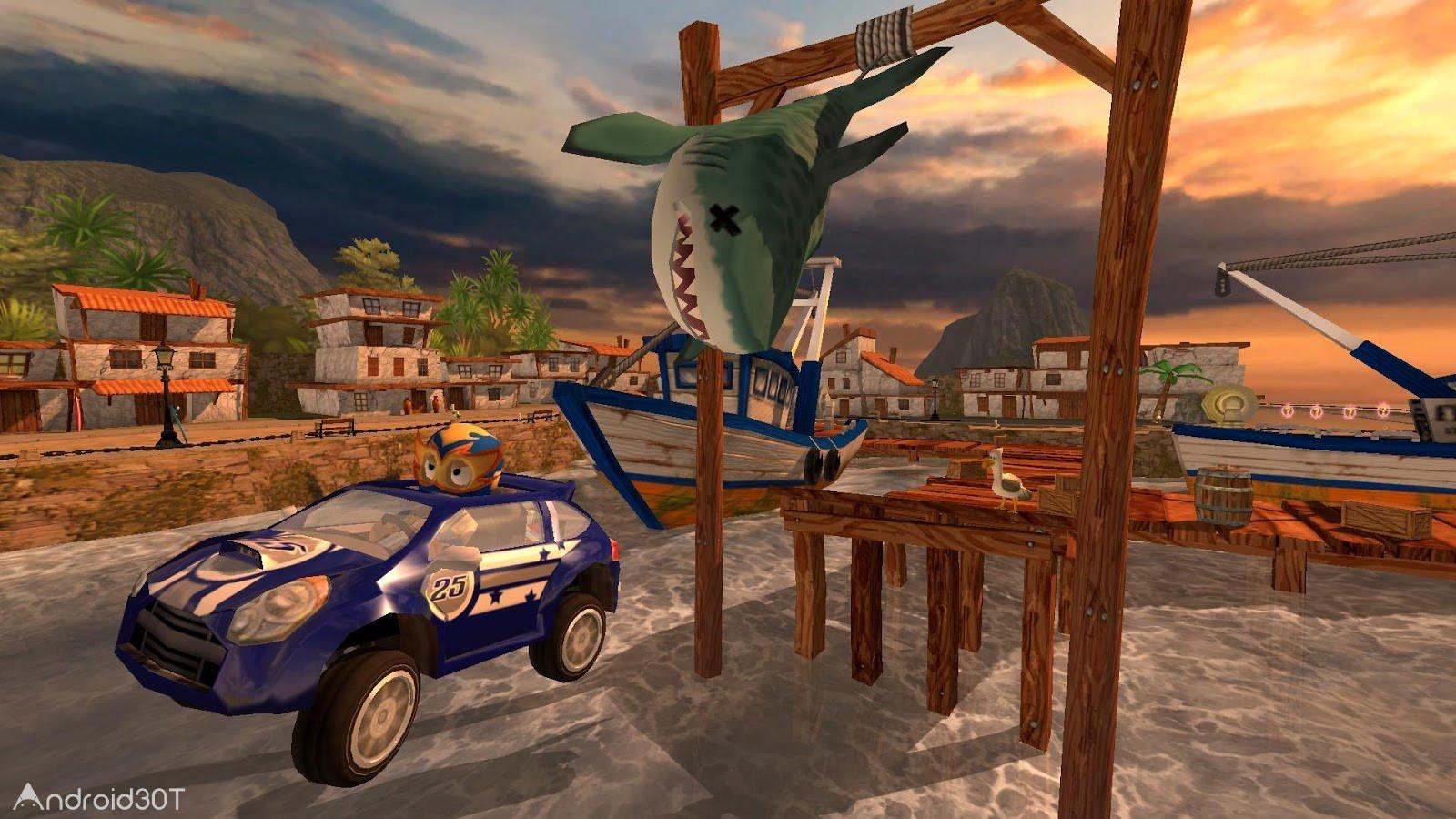 دانلود Beach Buggy Racing 2021.10.05 – بازی مسابقات باگی ساحلی اندروید