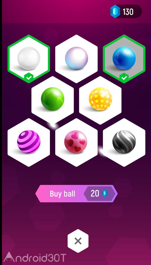 دانلود Beat Hopper: Ball Bouncing Music Game 3.4.8 – بازی موزیکال حرکت توپ اندروید