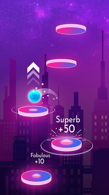 دانلود Beat Jumper: EDM up! 2.6.6 – بازی موزیکال بیت جامپر اندروید