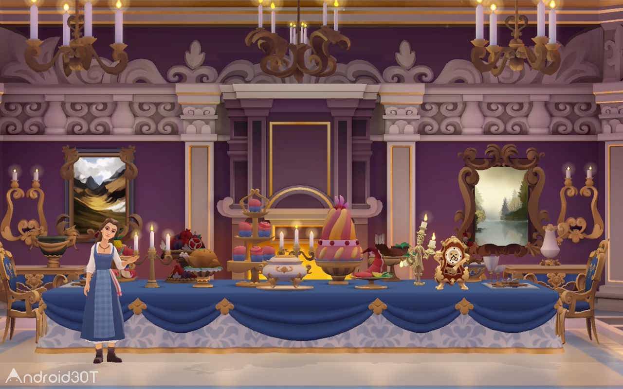 دانلود Beauty and the Beast 1.7.7 – بازی پازلی دیو و دلبر اندروید