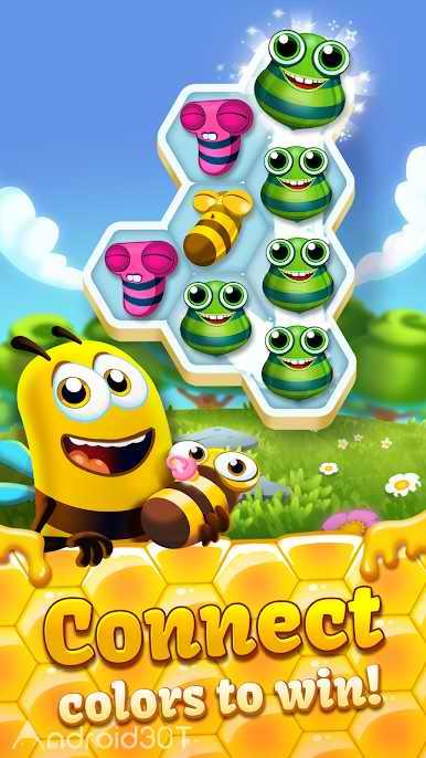 دانلود Bee Brilliant 1.85.1 – بازی پازلی زنبورعسل درخشان اندروید