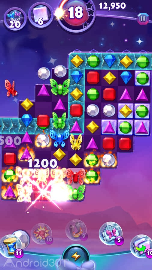 دانلود Bejeweled Stars: Free Match 3 v2.29.5 – بازی پازلی سنگ های درخشان اندروید