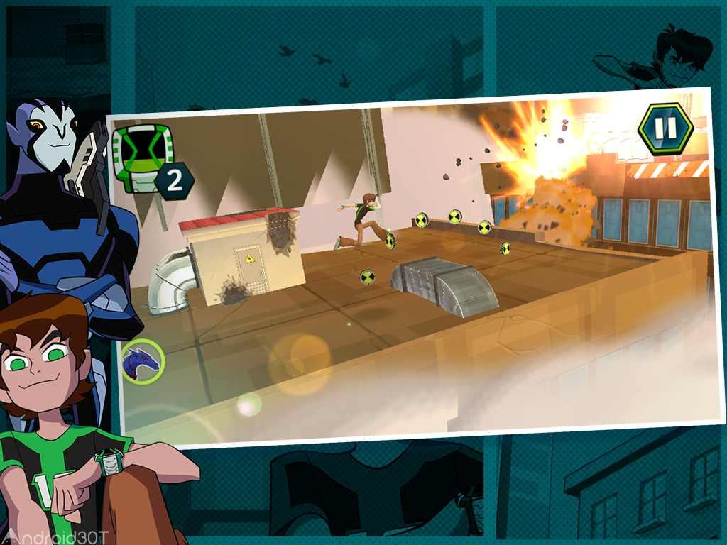 دانلود Ben 10: Undertown Chase 1.1 – بازی بن تن در شهر اندروید