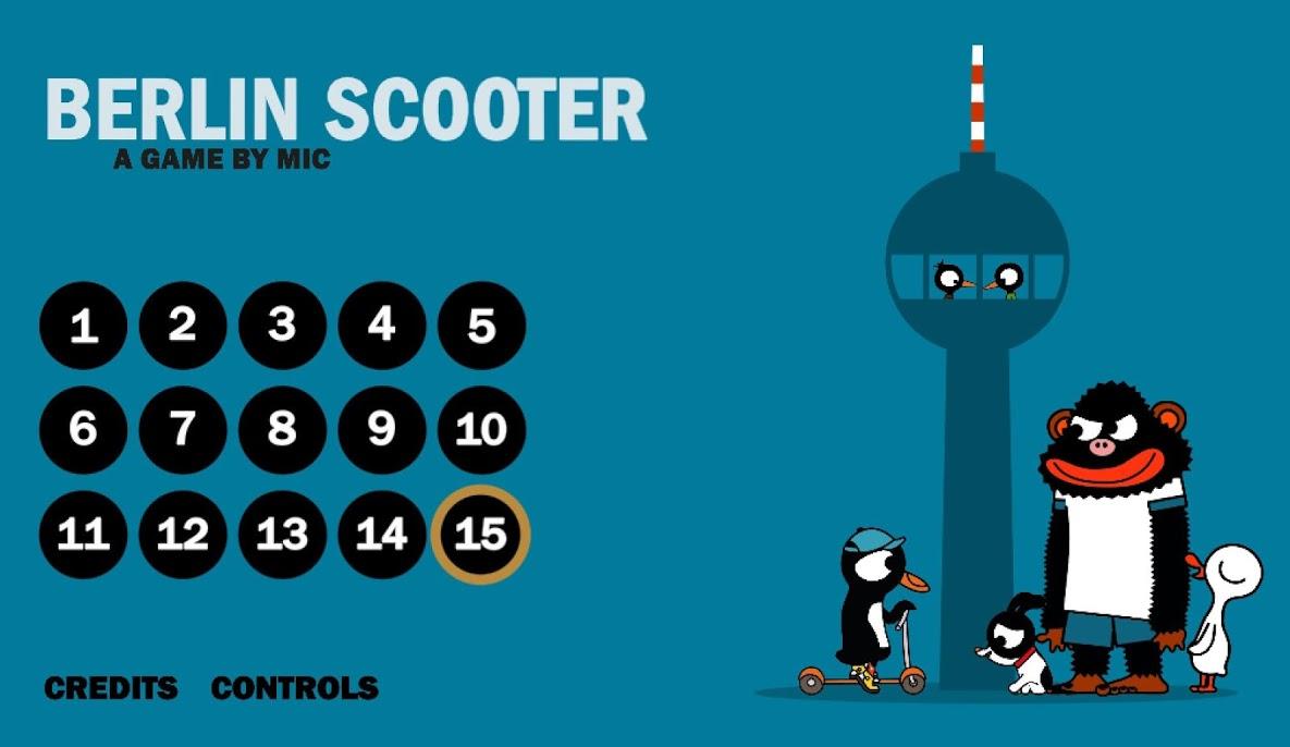 دانلود Berlin Scooter v1.3 – بازی ماجراجویی اسکوتر برلین اندروید