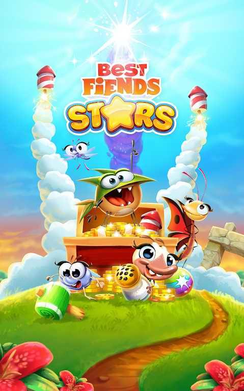 دانلود Best Fiends Stars 2.10.2 – بازی تفننی بهترین دشمنان اندروید
