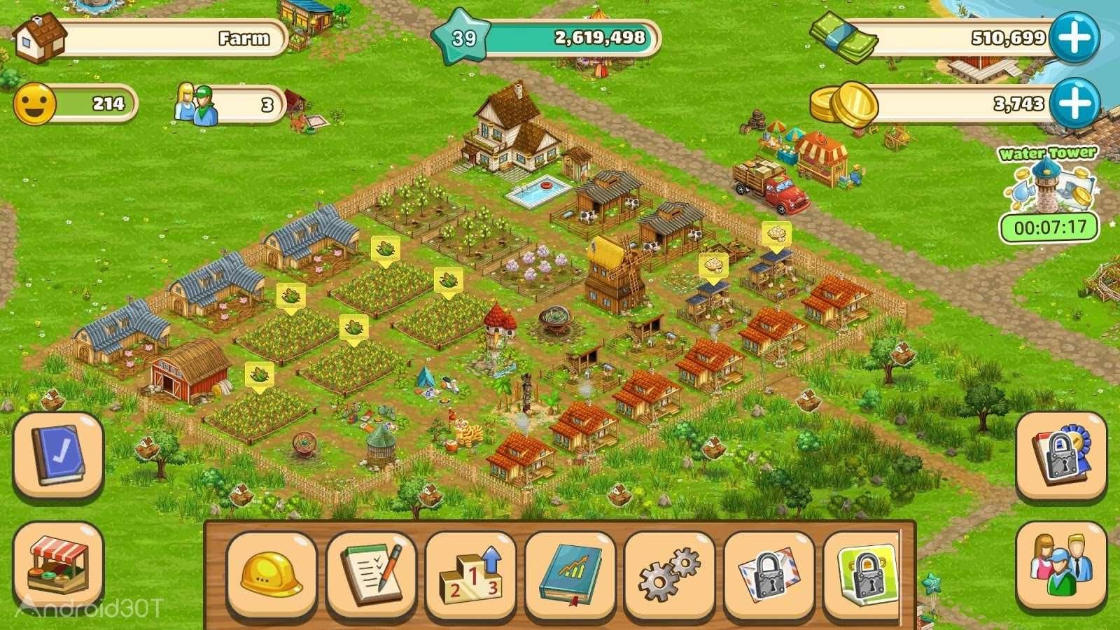 دانلود Big Farm: Mobile Harvest 4.15.15317 – بازی مزرعه داری برای اندروید