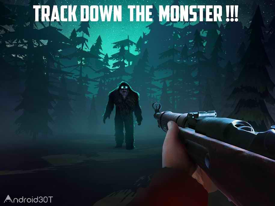 دانلود Bigfoot Monster Hunter 1.91 – بازی ترسناک شکارچی هیولا برای اندروید