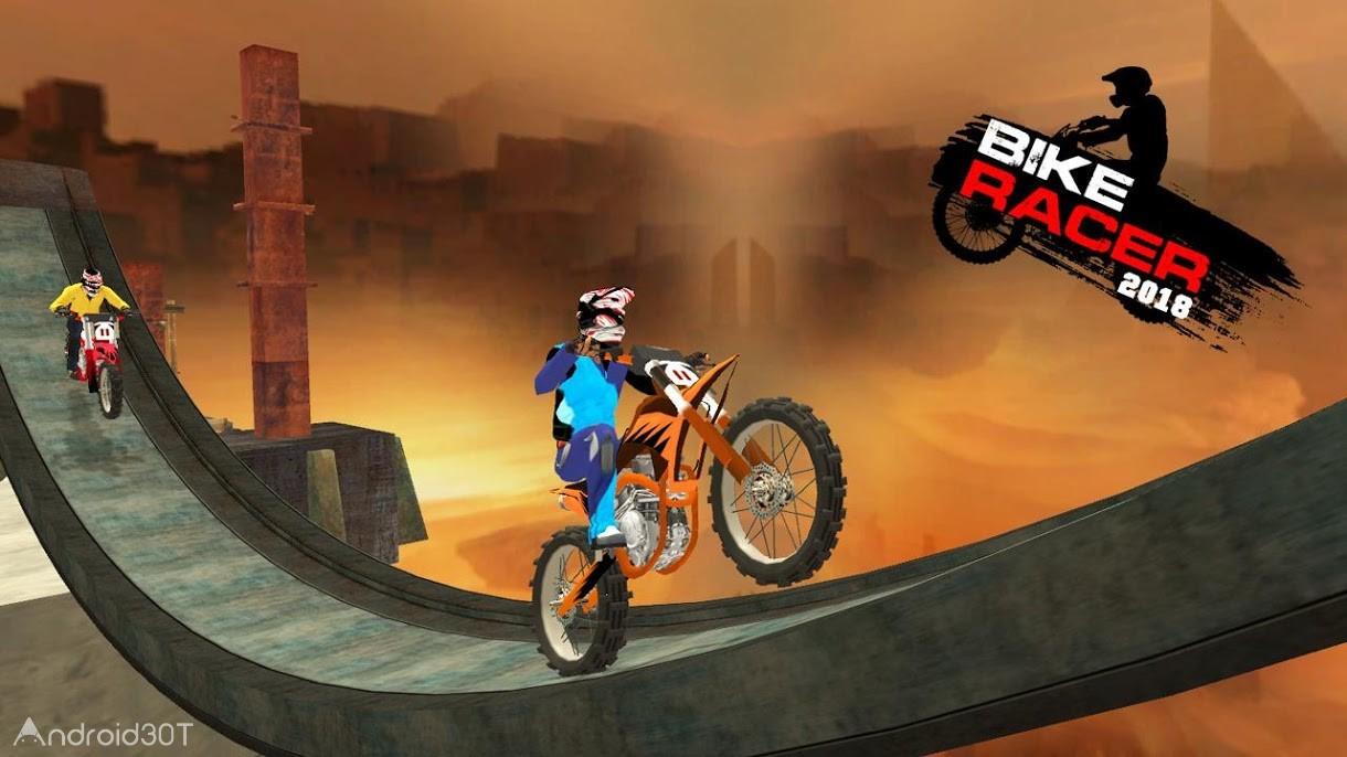 دانلود Bike Racer 2018 1.7 – بازی مسابقات موتور سواری 2018 اندروید