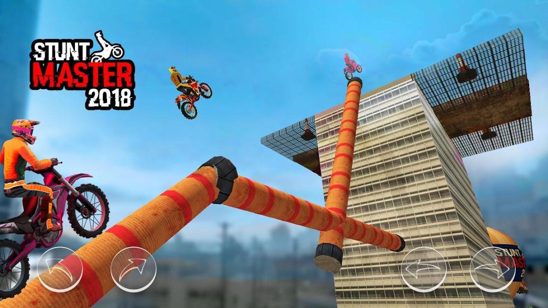 دانلود Bike Stunt Master 4.0 – بازی موتور سواری تعادلی اندروید