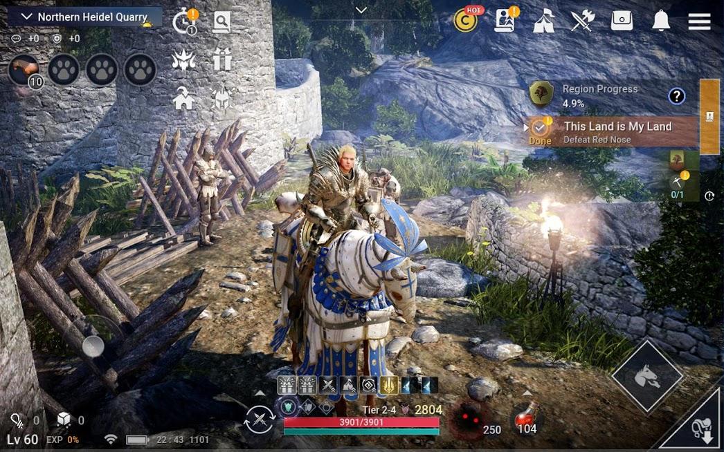 بازی Black Desert Mobile 4.4.12 – بازی نقش آفرینی کویر سیاه اندروید