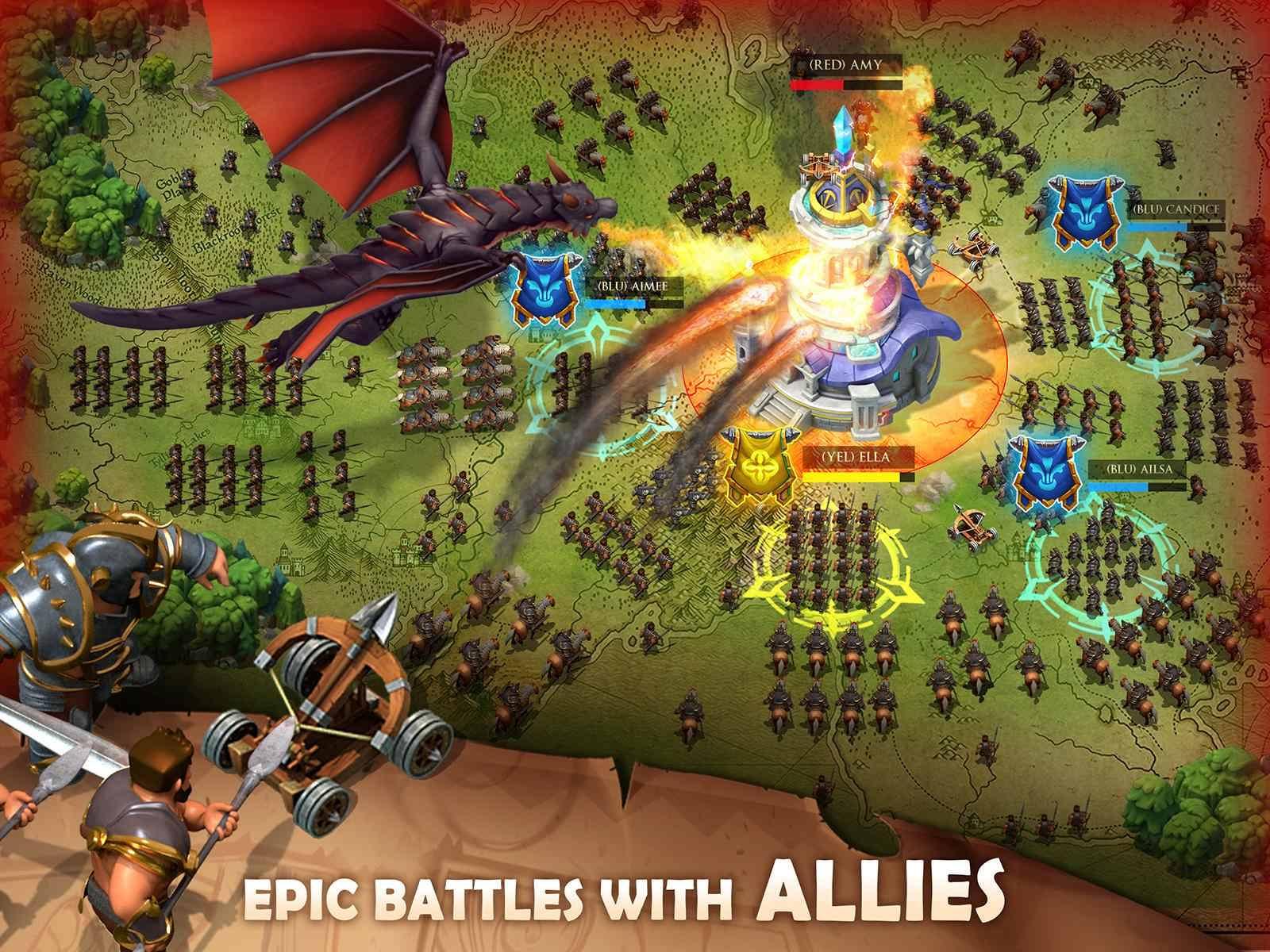 دانلود Blaze of Battle 5.1.0 – بازی استراتژیک جنگی اندروید