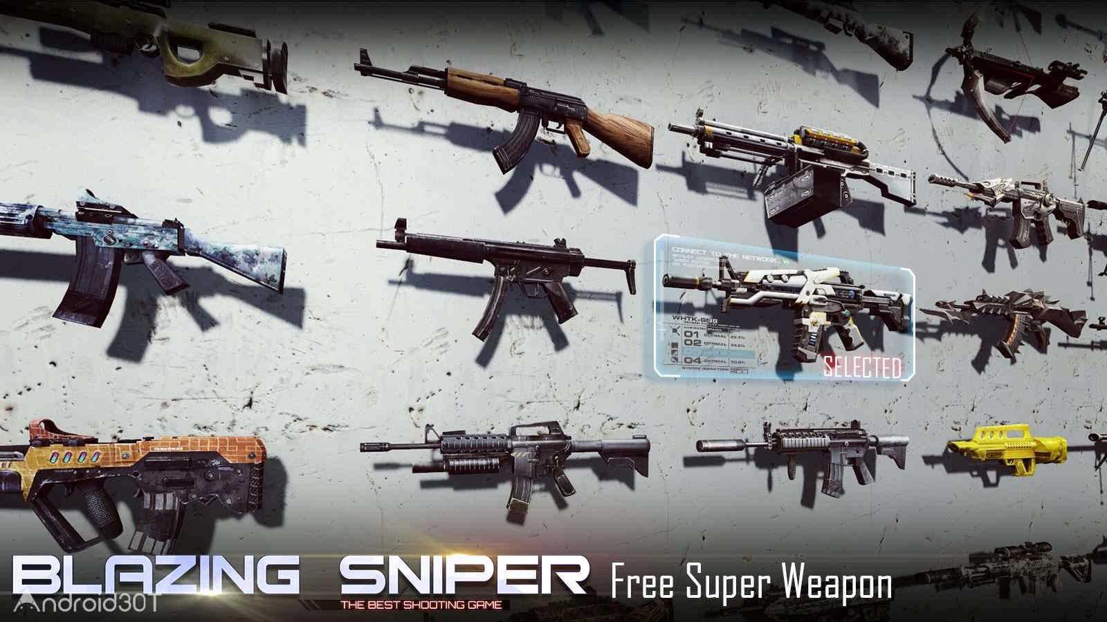 دانلود Blazing Sniper – Elite Killer Shoot Hunter 1.6.0 – بازی اکشن تک تیرانداز اندروید