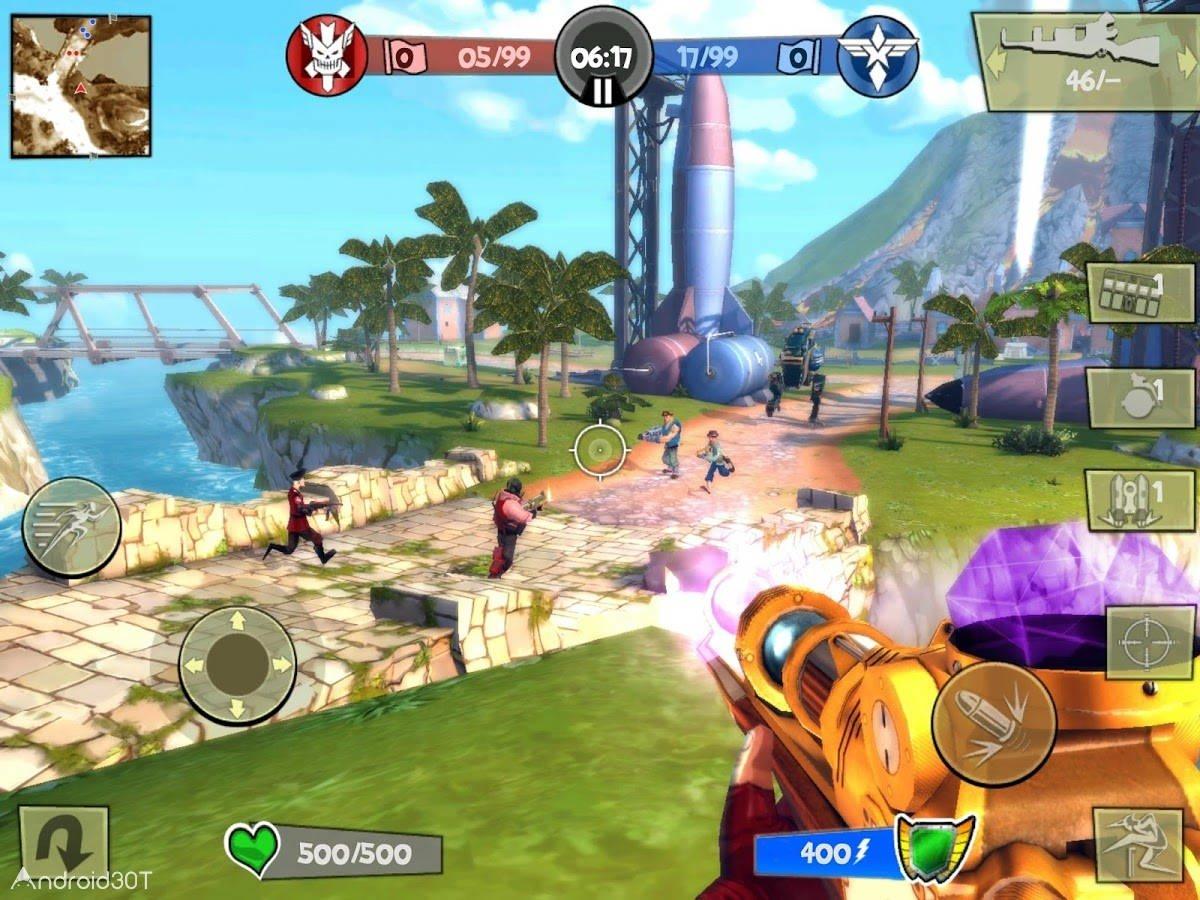 دانلود Blitz Brigade 3.6.2a – بازی چند نفره اکشن و آنلاین اندروید