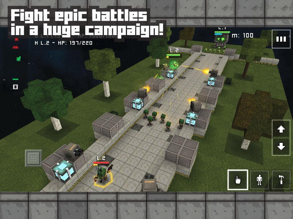 دانلود Block Fortress: War 1.00.15.3 – بازی استراتژیکی قلعه بلوکی اندروید
