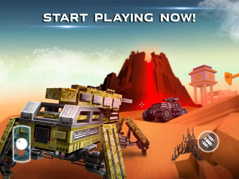 دانلود Blocky Cars Online 7.3.12 – بازی ماشین های پیکسلی اندروید