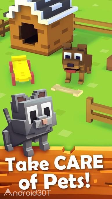 دانلود Blocky Farm 1.2.87 – بازی سرگرم کننده مزرعه داری اندروید