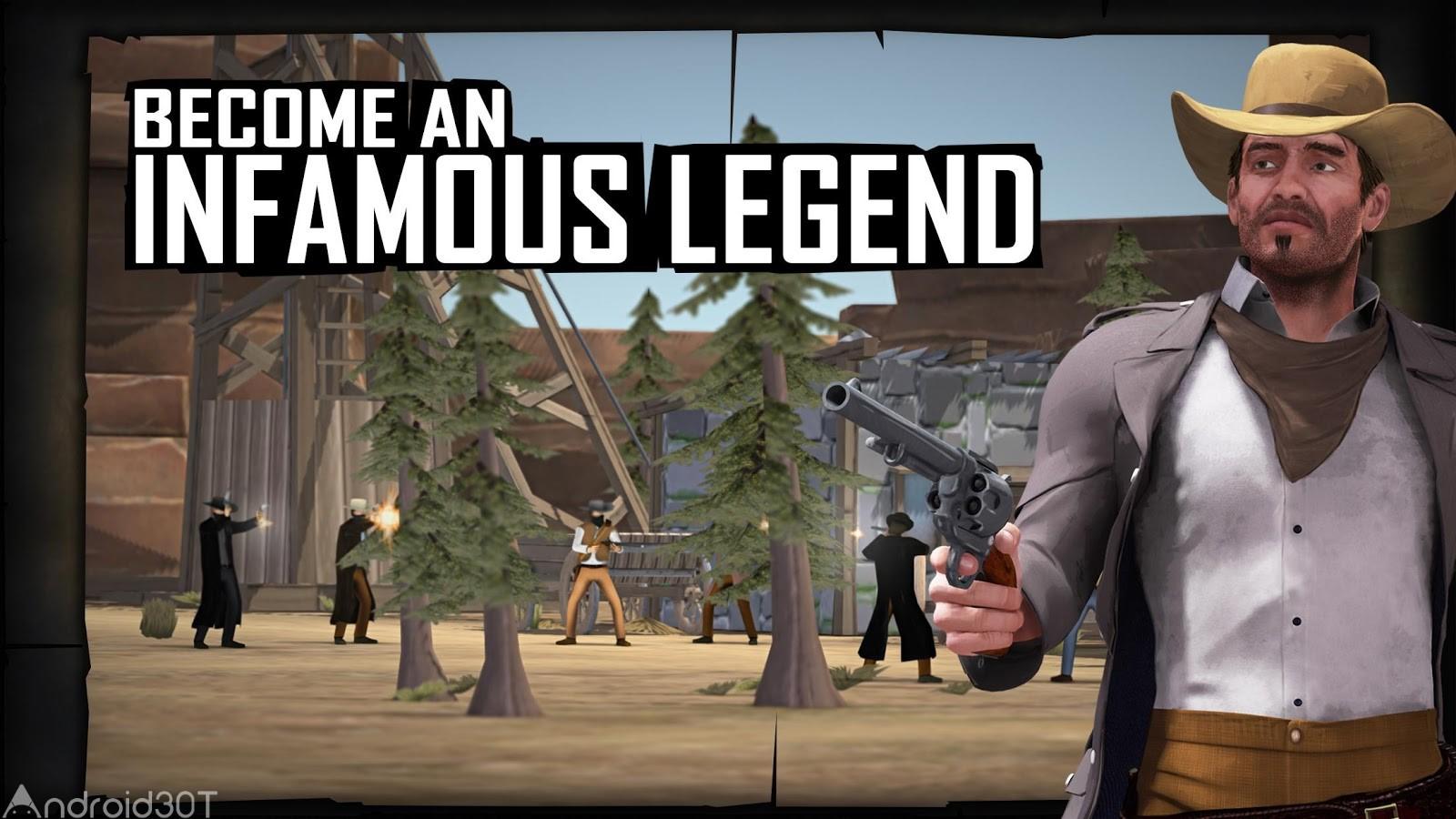 دانلود Bloody West: Infamous Legends 1.1.11 – بازی غرب خونین: افسانه ننگین اندروید