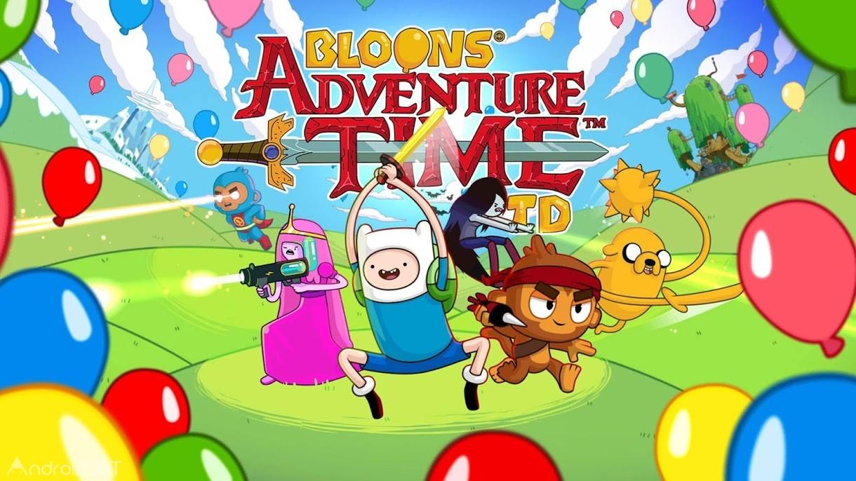 دانلود Bloons Adventure Time TD 1.7.3 – بازی ماجراجویی  جالب برای اندروید