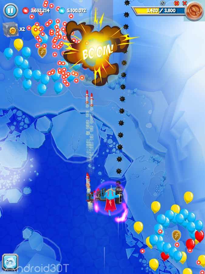 دانلود Bloons Supermonkey 2 1.8.3 – بازی اکشن میمون قهرمان اندروید