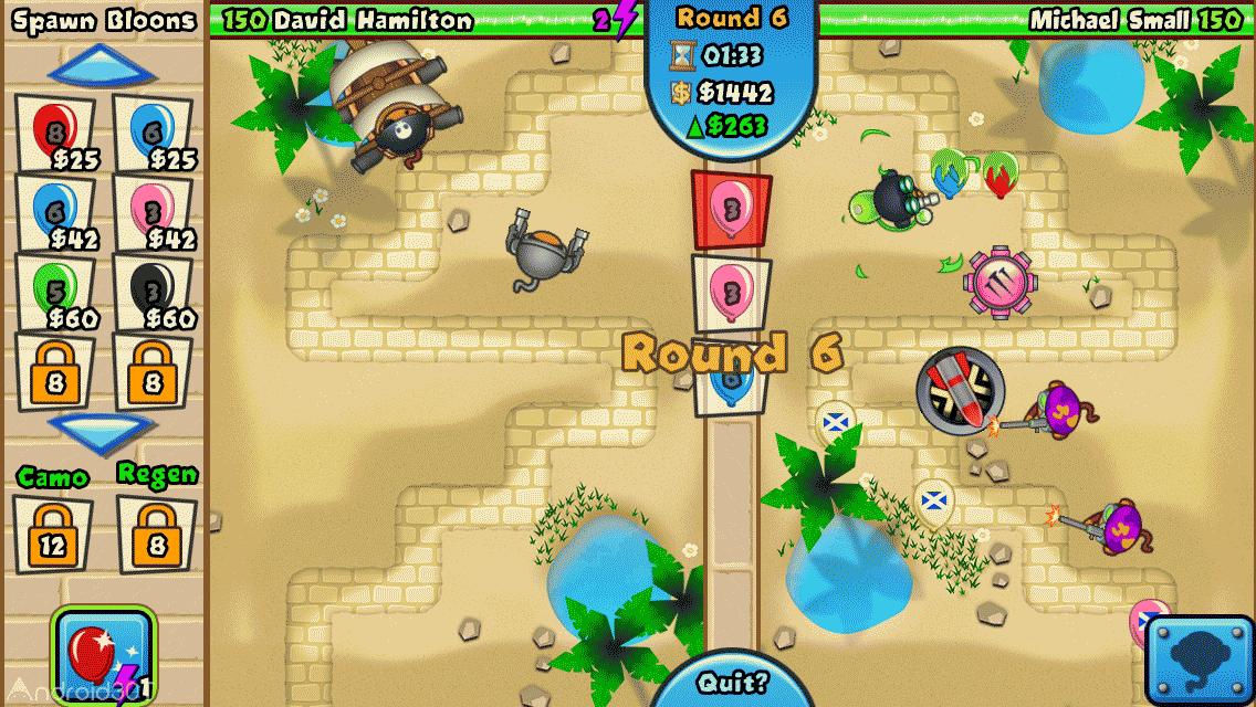 دانلود Bloons TD Battles 6.10.0 – بازی اکشن نبرد میمون ها اندروید