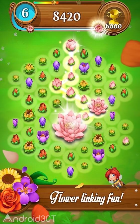 دانلود Blossom Blast Saga 82.0.1 – بازی پازلی انفجار شکوفه اندروید