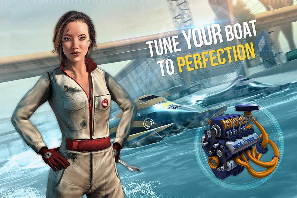 دانلود Boat Racing 3D: Jetski Driver & Water Simulator v1.00 – بازی مسابقه قایق سواری اندروید