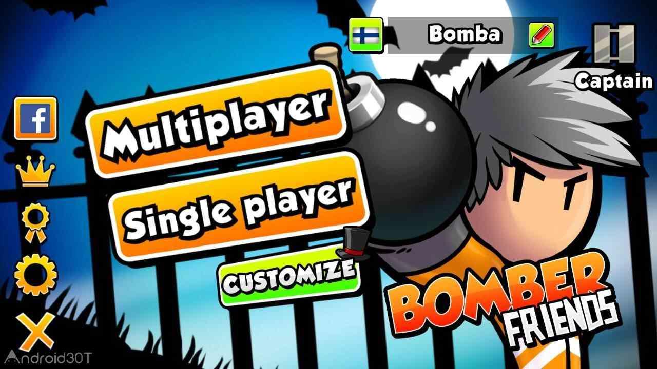 دانلود Bomber Friends 4.16 – بازی اکشن دوستان بمب افکن اندروید