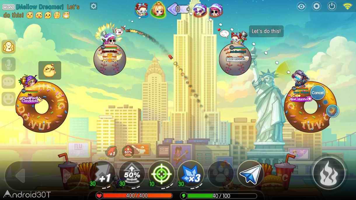 دانلود Boom Blaster 1.1 – بازی آنلاین بوم بلستر اندروید