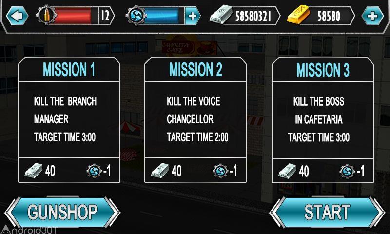 دانلود Boss Sniper 18+ v1.3 – بازی تفنگی و اسنایپری اندروید