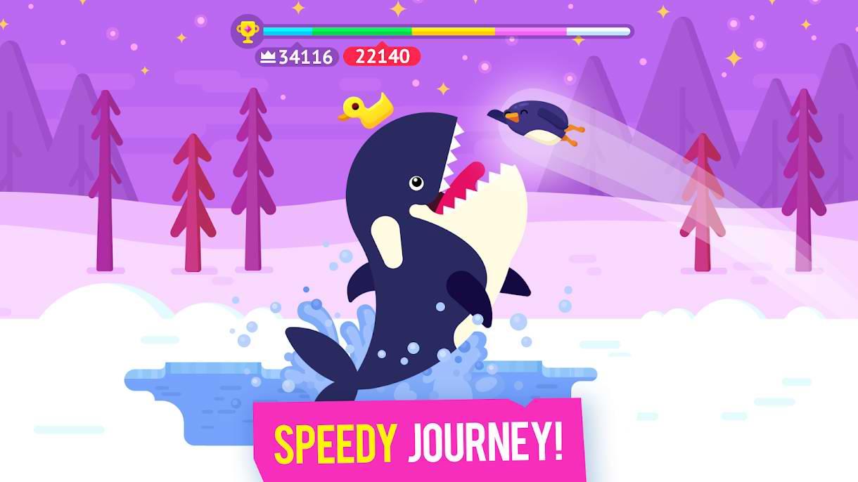 دانلود Bouncemasters 1.3.9 – بازی سرگرم کننده پرتاب پنگوئن اندروید