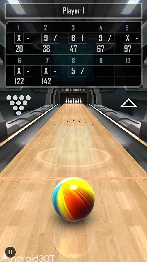 دانلود Bowling 3D Extreme Plus 1.8 – بازی بولینک 3 بعدی اندروید